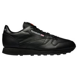 Оригинальные Кроссовки Reebok Classic Leather Black 2267