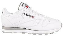 "Мужские кроссовки  Reebok Classic Leather ""White"" 2214"