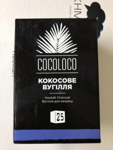 Кокосовый уголь ХМАРА КОКОЛОКО COCOLOCO  1кг (72 шт.)