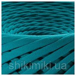 Трикотажная пряжа Bobilon (50 м), цвет Морская волна