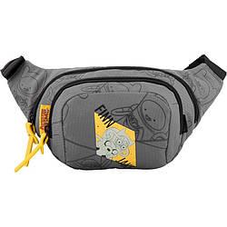 Сумка-бананка Kite City Adventure Time (AT19-1007) 2 отделения, внутренний карман на молнии, регулируемый пояс
