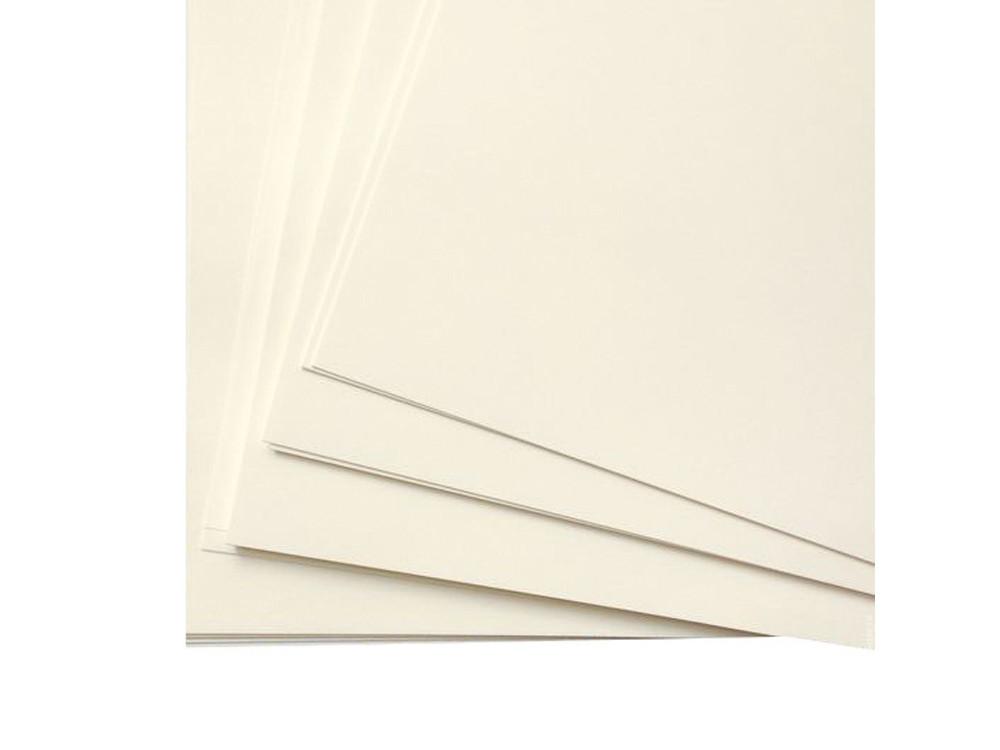 Блок бумаги для органайзера А5 клетка 80 листов 4 отверстия