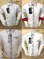 Белая турецкая детская рубашка SENIOR BENSI (размеры от 2-3 до 15-16лет)