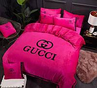 Бархотное постельное белье евро  фирма GUCCI
