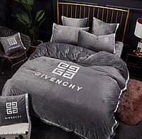 Бархотное постельное белье евро  фирма  GIVENCHY