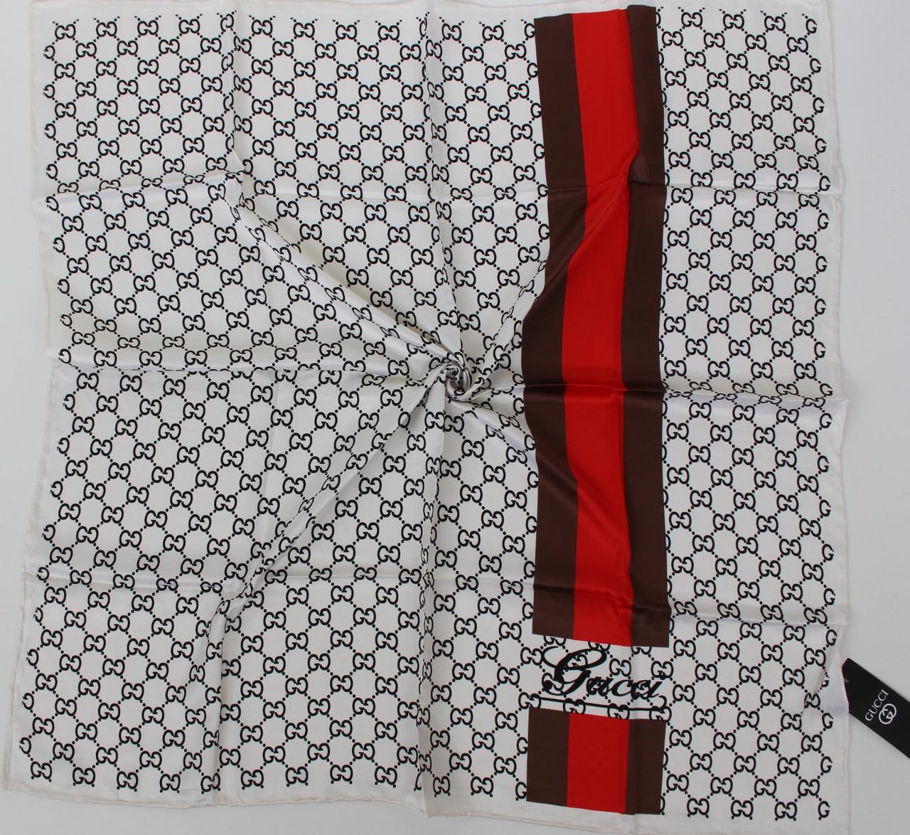 Женский брендовый платок Gucci (Гуччи) 235-1