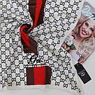 Женский брендовый платок Gucci (Гуччи) 235-1, фото 2