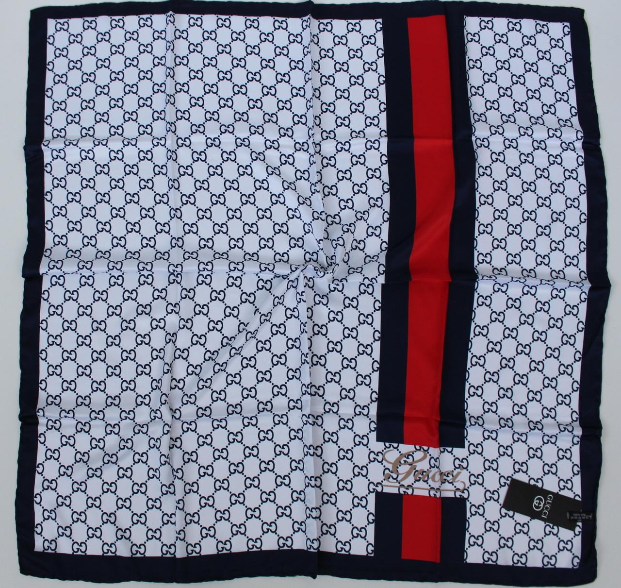 Женский брендовый платок Gucci (Гуччи) 235-3