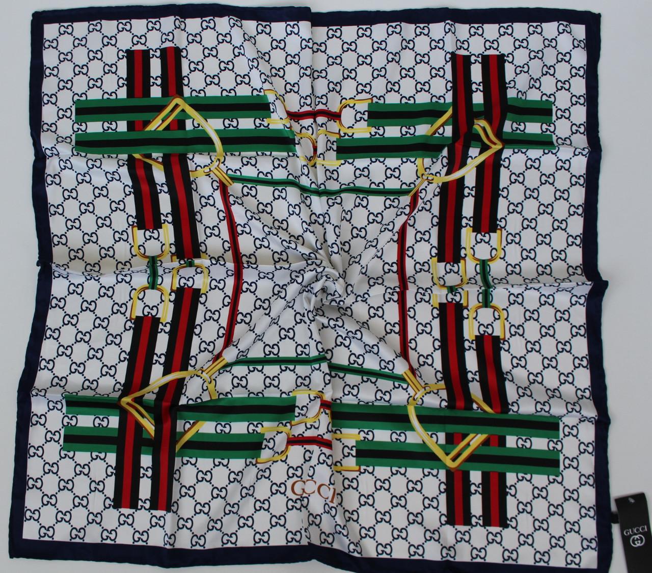 Женский брендовый платок Gucci (Гуччи) 235-8