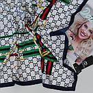 Женский брендовый платок Gucci (Гуччи) 235-8, фото 2