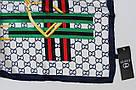 Женский брендовый платок Gucci (Гуччи) 235-8, фото 3