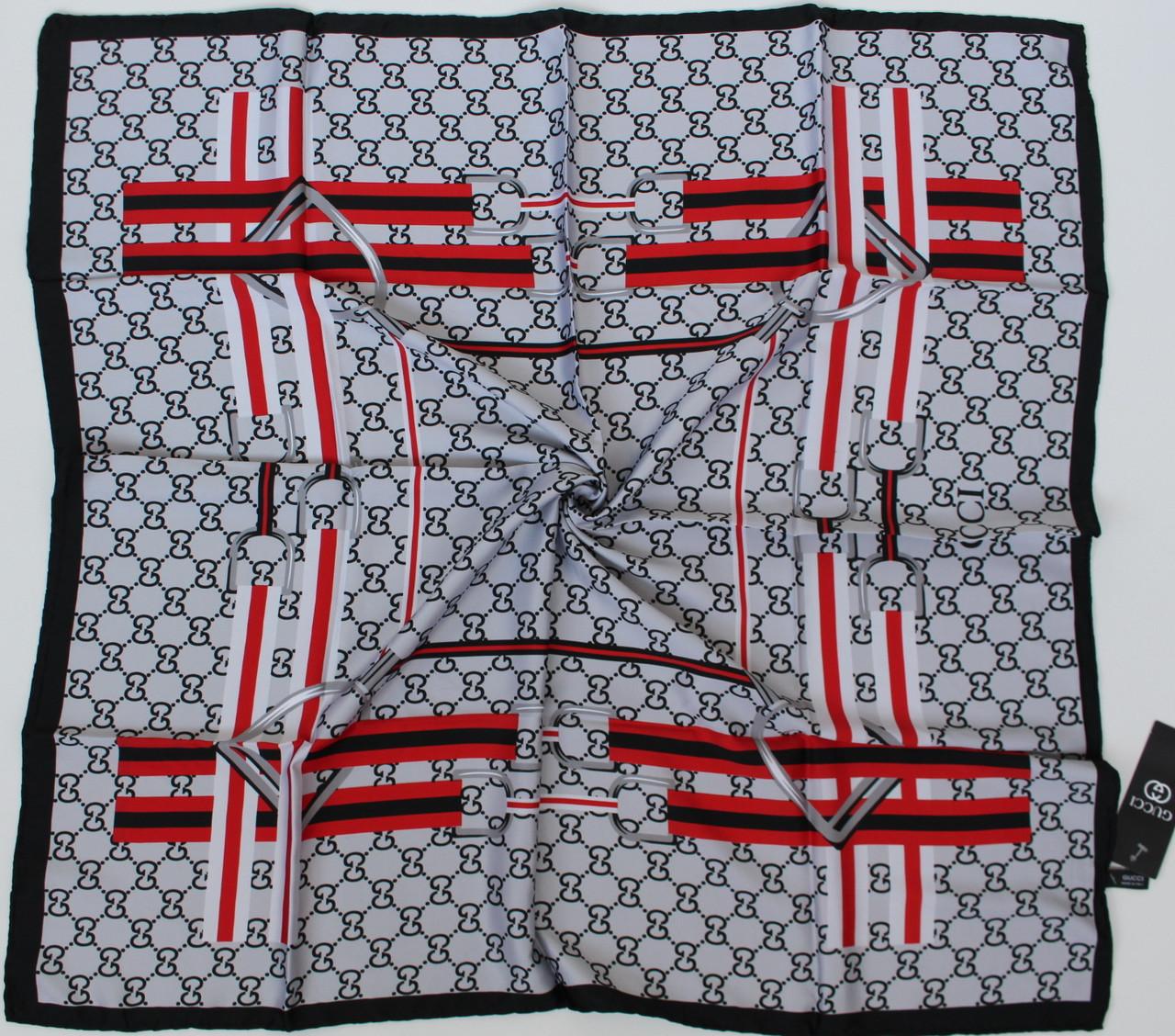 Женский брендовый платок Gucci (Гуччи) 235-11