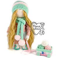 Кукла тильда с носиком, кукла тыквоголовка, кукла прованс, самая большая 36 см