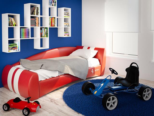Кровати в мягкой обивке