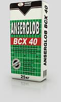 Клей для приклеивания и защиты теплоизоляции ANSERGLOB BCX 40 (25 кг) зима 0°С