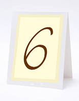 Прямоугольный номер на свадебный стол