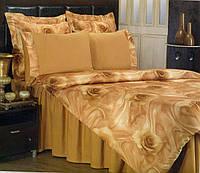 Комплект двуспального евро постельного белья (атлас-сатин) ТМ Atilla home