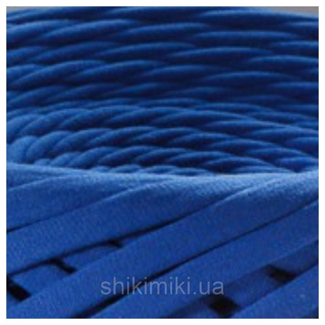 Трикотажная пряжа Bobilon маленькие моточки (50 m), цвет Синий Электрик