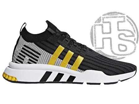 9bb51b8d Мужские кроссовки Adidas EQT Support Mid Adv Black Equipment Yellow/White  CQ2999, фото 2