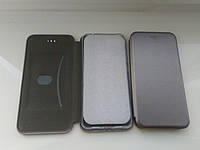 Чехол- книга Premium для Xiaomi MI 8 Lite  (серый), фото 1