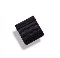 Удлинитель для бюстгальтера на 3 крючка черный