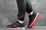 Мужские кроссовки Reebok (темно-синие с красным) , фото 3