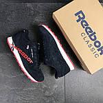 Мужские кроссовки Reebok (темно-синие с красным) , фото 4
