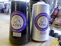 Нитки универсальные швейные  50/2 Kiwi  (нижняя) (5000 ярдов), фото 1