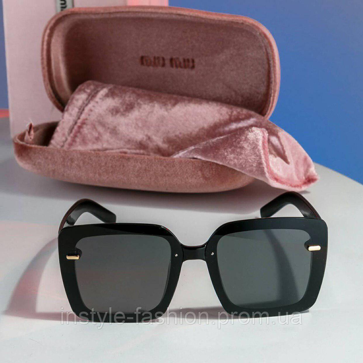 0b04e8b1af18 ... Брендовые женские очки копия Miu Miu Миу Миу polaroid квадратные , фото  7 ...
