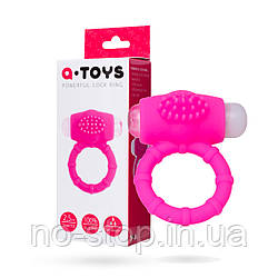 Ерекційне кільце на пеніс Toyfa A-Toys, силікон, рожевий, ø 2,5 см