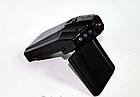 """Видеорегистратор HD 198 DVR (LCD 2,4"""") съемка день/ночь угол обзора 120 авторегистратор складной 2.2"""", фото 3"""