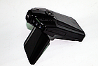 """Видеорегистратор HD 198 DVR (LCD 2,4"""") съемка день/ночь угол обзора 120 авторегистратор складной 2.2"""", фото 4"""