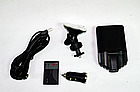 """Видеорегистратор HD 198 DVR (LCD 2,4"""") съемка день/ночь угол обзора 120 авторегистратор складной 2.2"""", фото 5"""