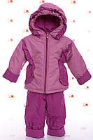 Детская куртка с полукомбинезоном демисезонная