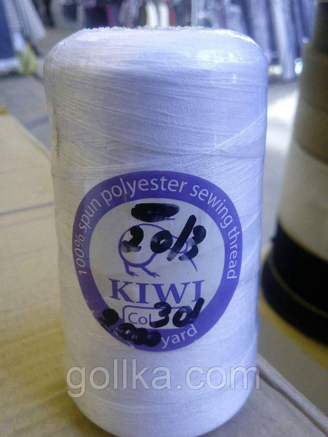 Нитки швейные армированные 20/3 Kiwi (киви) (2000 ярдов)