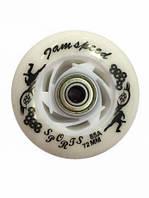 Колеса для роликов диам. 72 мм 8шт. с подшипниками и втулками, полиуретан