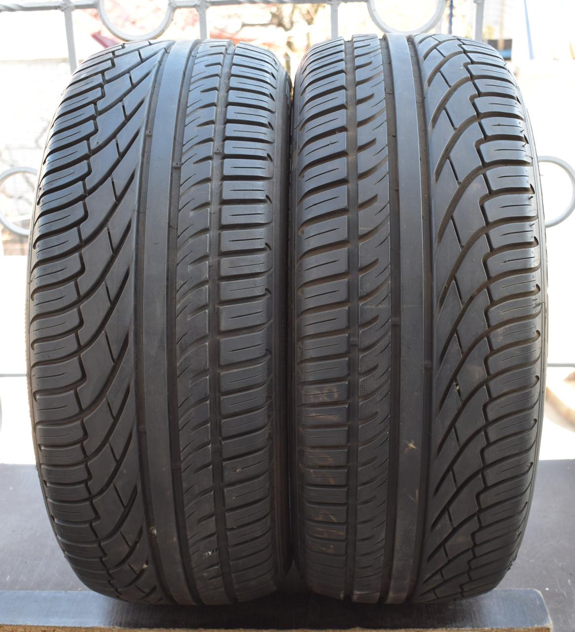 Летние шины б/у 245/50 R18 Michelin, 7-7,5 мм, пара