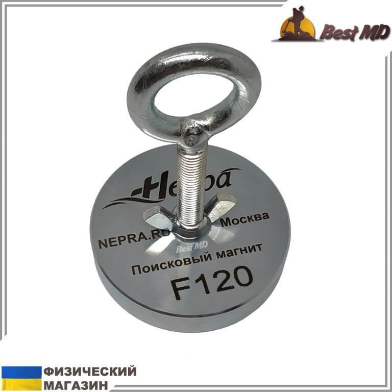 Односторонний поисковый магнит НЕПРА F120