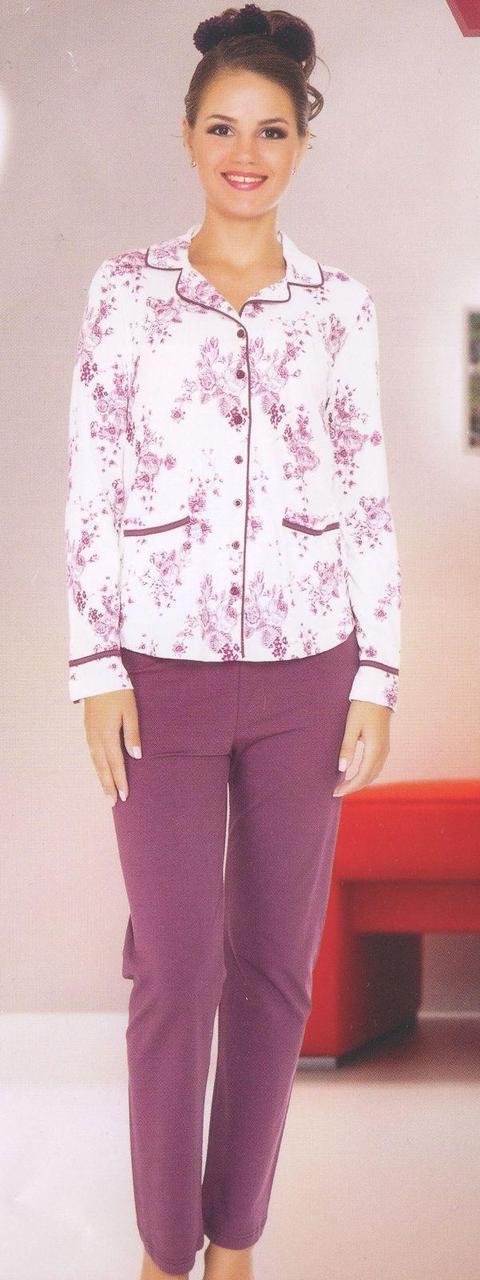 Женская пижама кофта штаны фирмы Sabrina