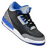 Женские кроссовки  Air Jordan 3 Retro  398614-007, фото 5