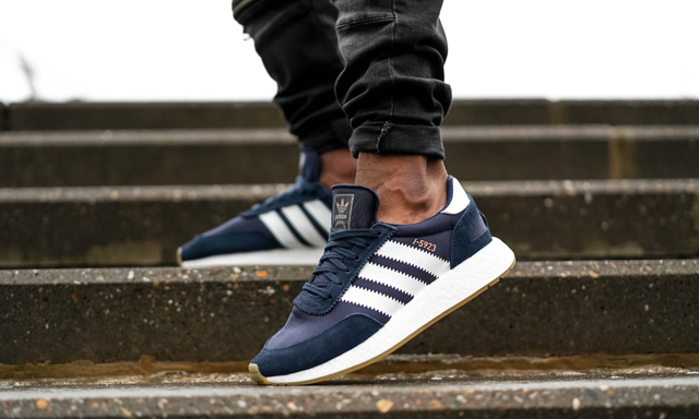 7c920064 Мужские кроссовки Adidas Iniki Runner Collegiate Navy/White BB2092 ...