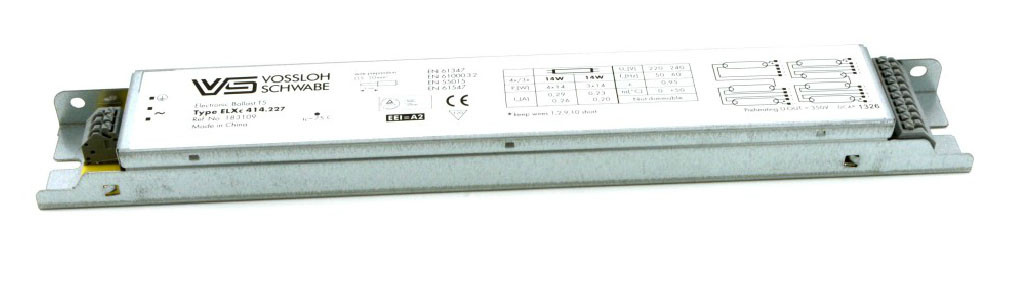 Балласт Vossloh-Schwabe ELXc 414.227 (T5 4 x 14W) CN