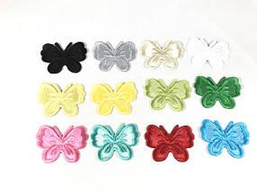Нашивки бабочки 43х33 мм