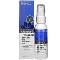 Сыворотка с гиалуроновой кислотой, Derma E, 60 мл