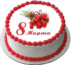 Торт к 8 марта. Весенний торт