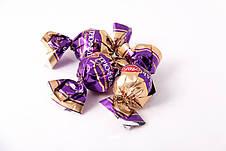 Подарочная коробка с цветами из конфет! Трюфель Оригинальный (АВК), фото 3