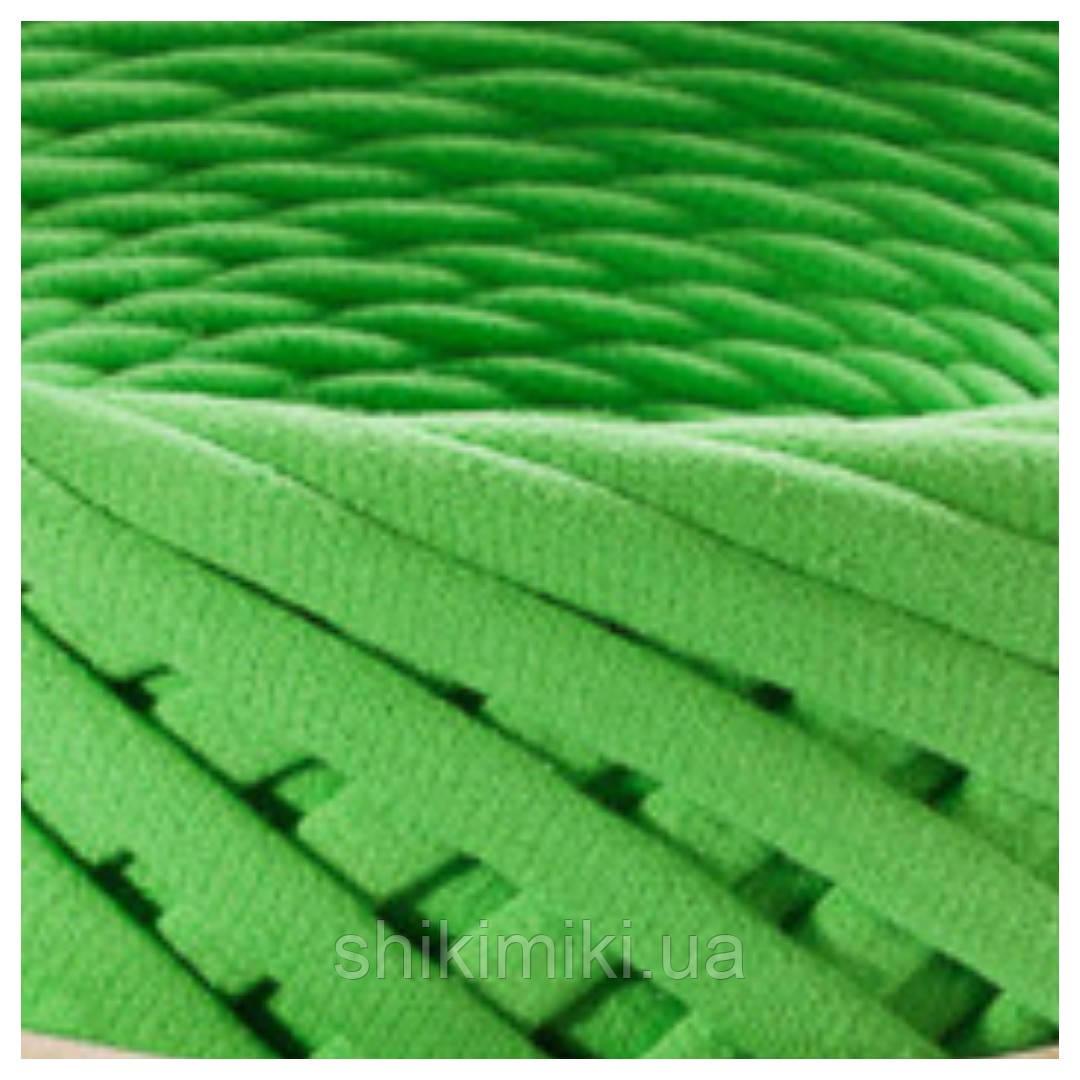 Трикотажная пряжа Bobilon маленькие моточки (50 m), цвет Зеленое яблоко
