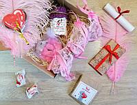 """Эротический подарочный набор для девушки """"Пленница"""" с сертификатом на исполнение 3 желаний"""