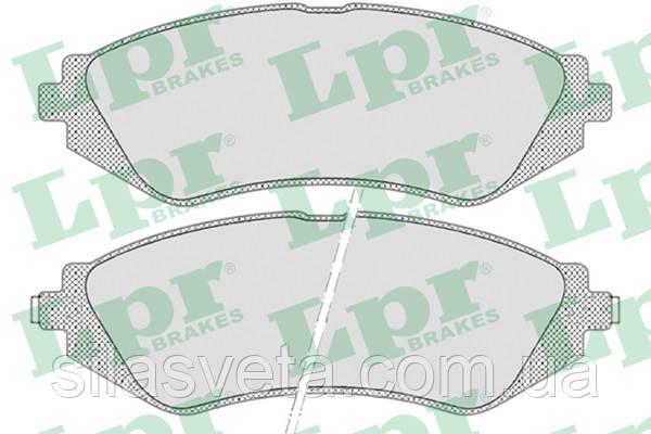 Колодки передние Ланос 1,6 LPR