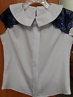 Блуза  для девочек школьная 402